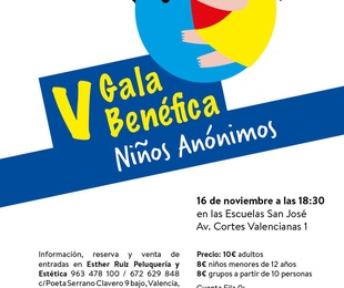 V Gala Benefica Niños Anónimos