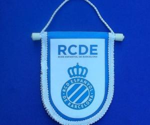 Banderín Pequeño del RCD Español