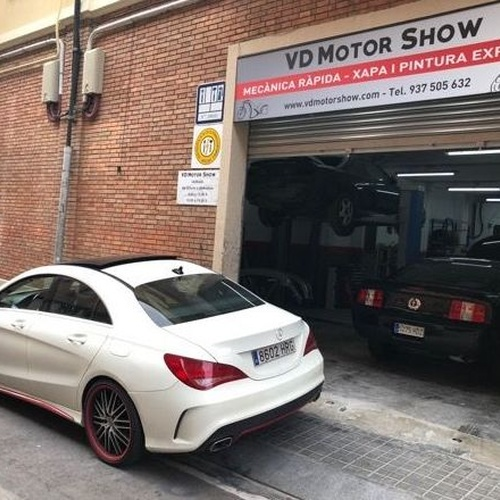 Taller de chapa y pintura en Vallirana | VD Motor Show