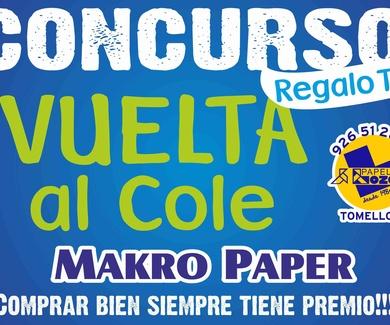 """Premio Sorteo """"Vuelta al Cole"""""""