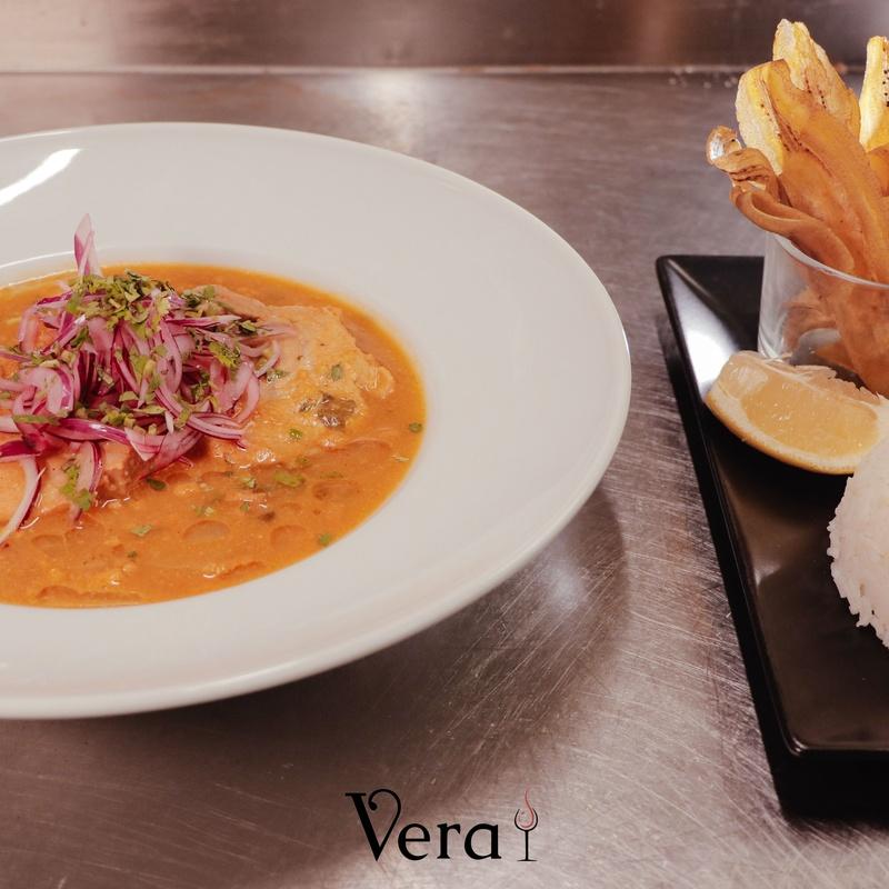 PRINCIPALES CON AROMA DE ECUADOR: NUESTRA CARTA de Vera Restaurante