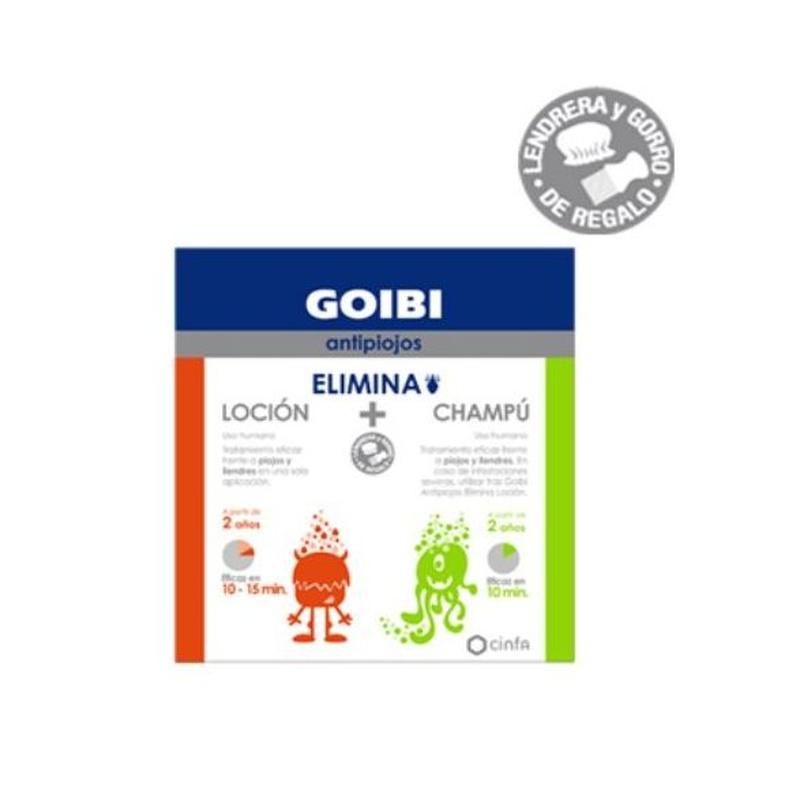 Goibi Elimina Loció + Xampú: PRODUCTES EN ESTOC  de Farmacia Rosa Cinca | Guissona | 365 | 8.30-21