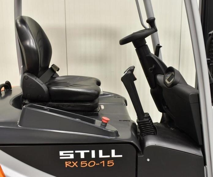 STILL RX50-15: CATÁLOGO de HP Elevación
