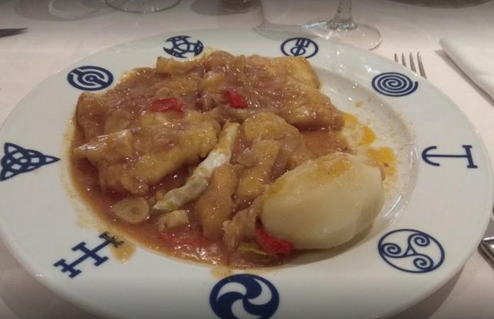 Segundos: Carta de Restaurante Fernando III