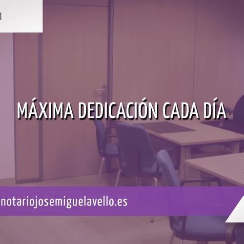 Aranceles notariales en Zaragoza | Notario José Miguel Avello