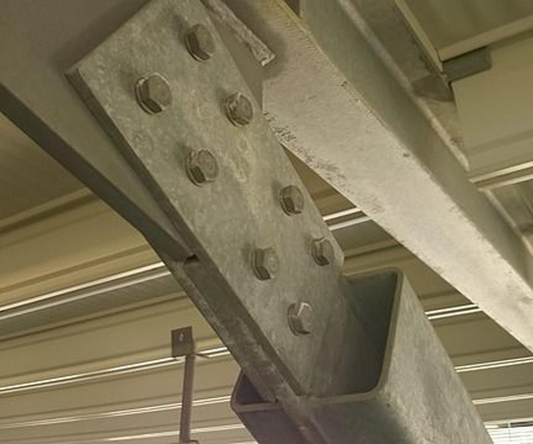 Estructuras de hormigón o metálicas