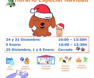 Nuestro Horario Especial de Navidad
