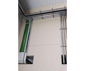 Tendido de cables en instalaciones industriales