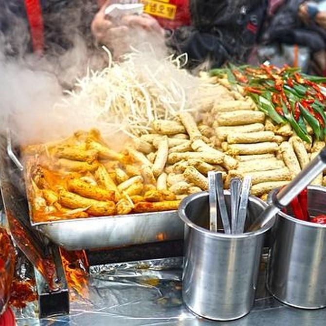 Comida asiática: la comida china y japonesa