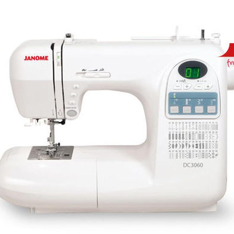 Máquina de coser electrónica Janome DC3060