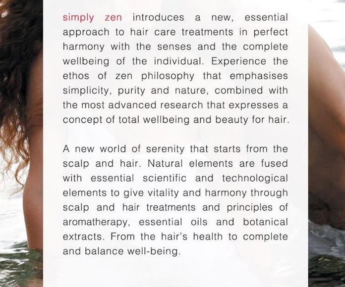 Simply Zen: Servicios de Mandarina Salón de Belleza
