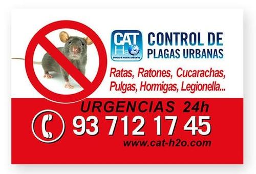 Cat-h2o - Control de Plagas Urbanas  y Tratamientos de Legionella