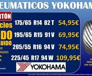 Oferta Neumáticos Yokohama