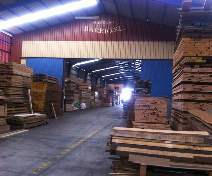 Almacén de madera en Toledo