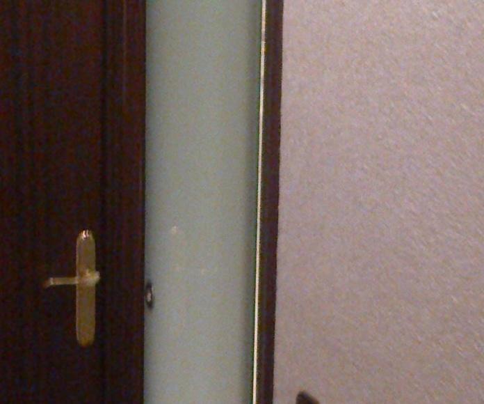 Puerta de una hoja corredera
