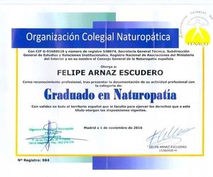 Título de Naturopatia