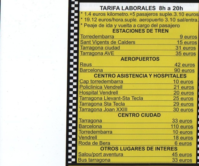 LABORAL DE LUNES A VIERNES 8 A 20H.