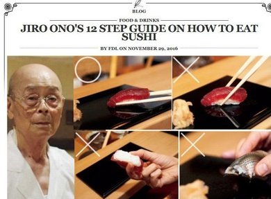Como Comer Sushi....