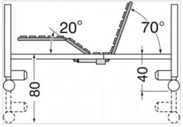 Cama electrica elevable Antares