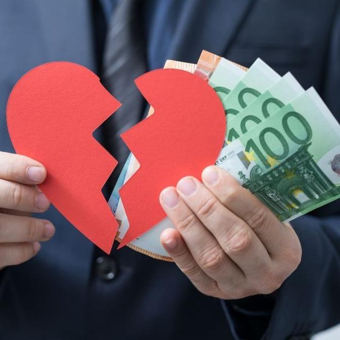 La pensión compensatoria en divorcios