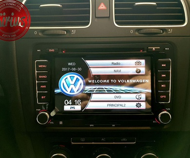 VW Golf 6 - Sistema Android
