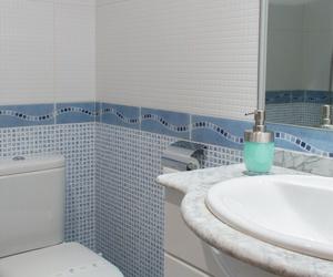 Baño con ducha en todos los apartamentos