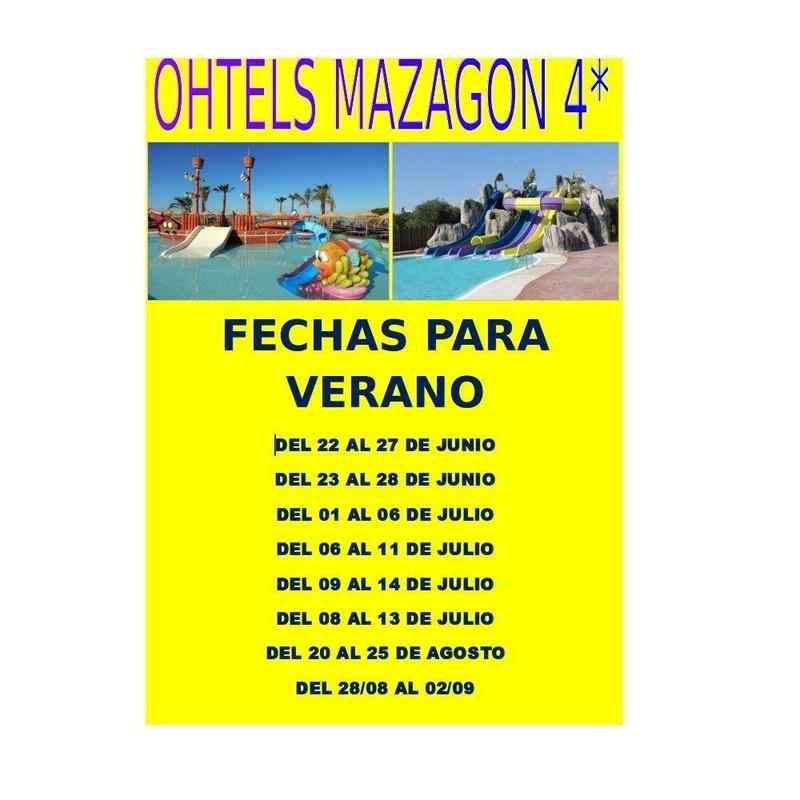 Oferta Ohtels Mazagon 4*: Ofertas de Viajes Global Sur