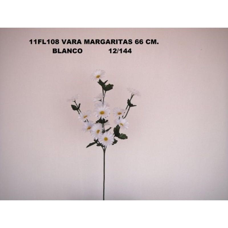 VARA MARGARITAS (66CM.) COLOR:BLANCO REF.:11FL108 PRECIO:1,80 €