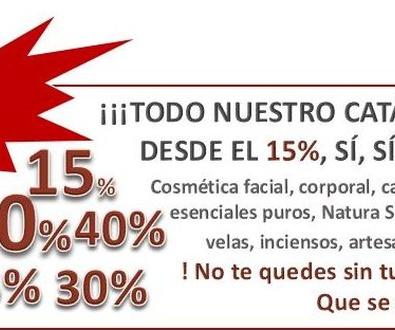Promoción Relámpago, descuentos esde el 15% en toda la web!!!