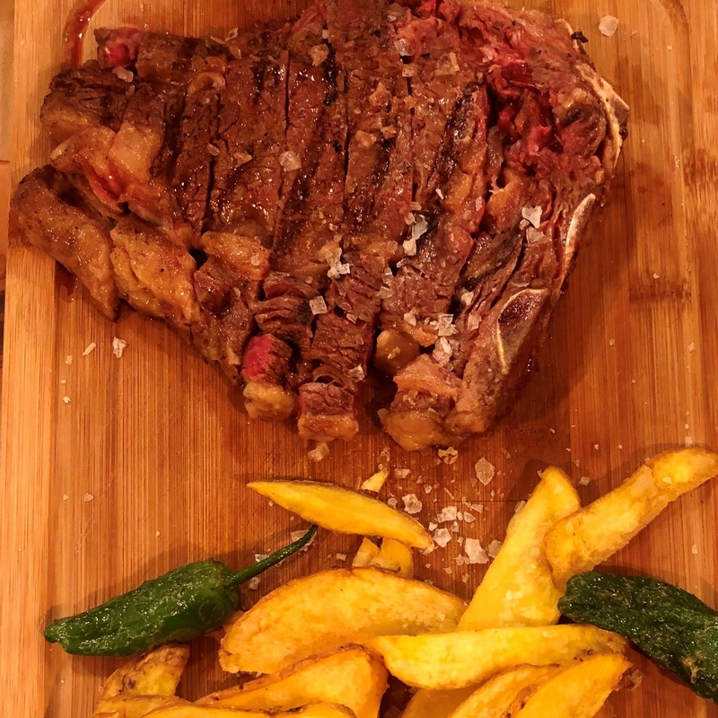 Entrecotte de vaca madurada + 300 grs: CARTA y Menús de Alquimia