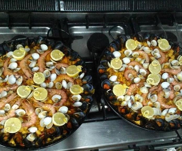 Paellas: Platos de Restaurante Cabosuroeste