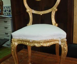 silla oro fino terminada