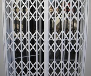 Puerta extensible de hierro