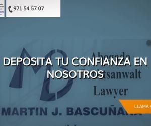 Despacho de abogados en Mallorca: Martín Bascuñana Abogados