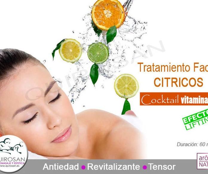 Facial Antiedad - Revitalizante de citricos: Servicios de Quirosan