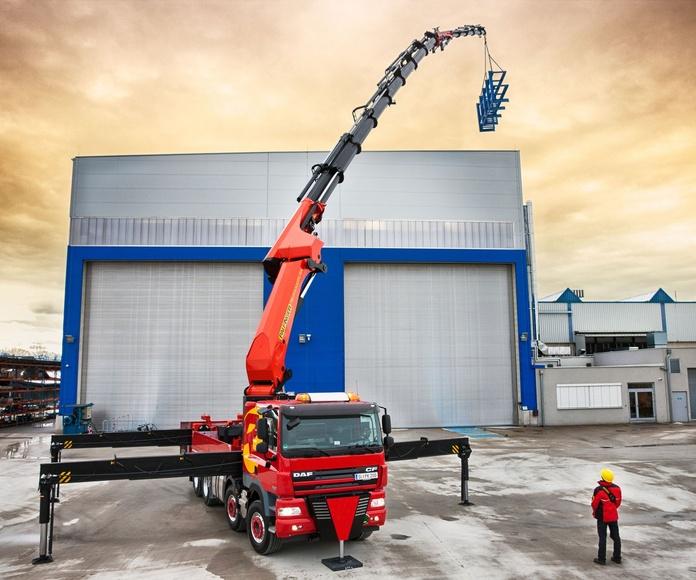 Maquinaria y Herramienta de Construcción: servicios de Grúas Benavente