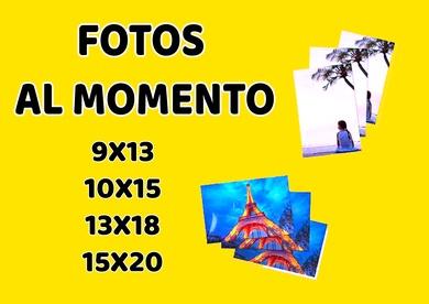 FOTOS AL MOMENTO