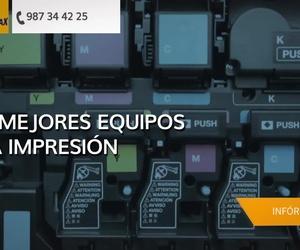 Imprenta digital en León | Copyamax Fotocopias Digital