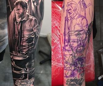 Tatuajes profesionales y personalizados en barcelona: Tatuajes de Inksane BCN Tattoo en Barcelona