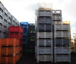 Alquiler de Bigbox de plástico en Badajoz