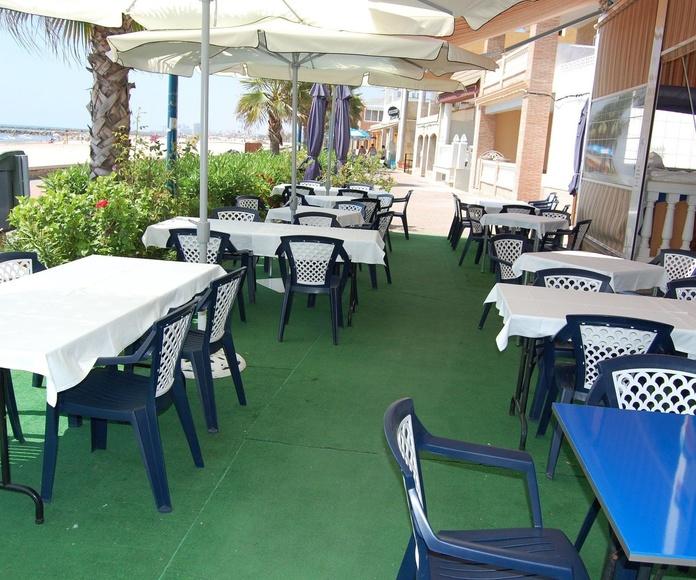 Restaurantes con vistas al mar en Puçol