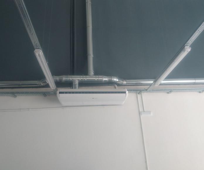 Ventilación y aporte de aire: Servicios de Climafret