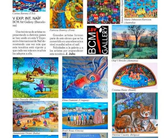 Articulo revista de arte GALART