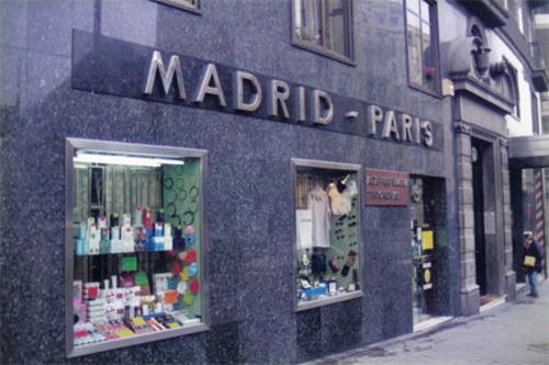 Perfumería y cosmética (tiendas) en Madrid | Perfumería Madrid-París
