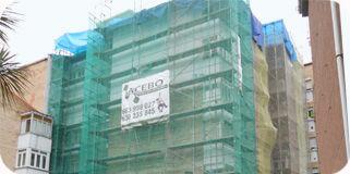 Rehabilitación integral de fachadas: Trabajos de Acebo Trabajos Verticales