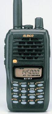 ALINCO DJ-V17: Catálogo de Olanni Electronics