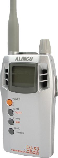 ALINCO DJ-X3: Catálogo de Olanni Electronics