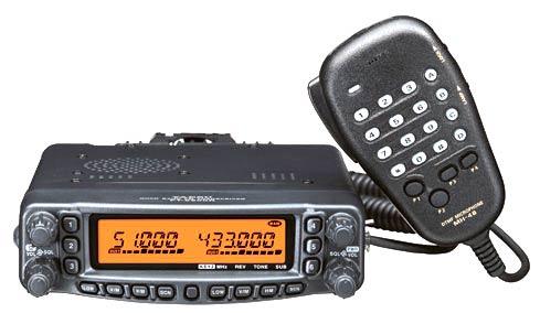 YAESU FT-8800E con kit extension frontal: Catálogo de Olanni Electronics
