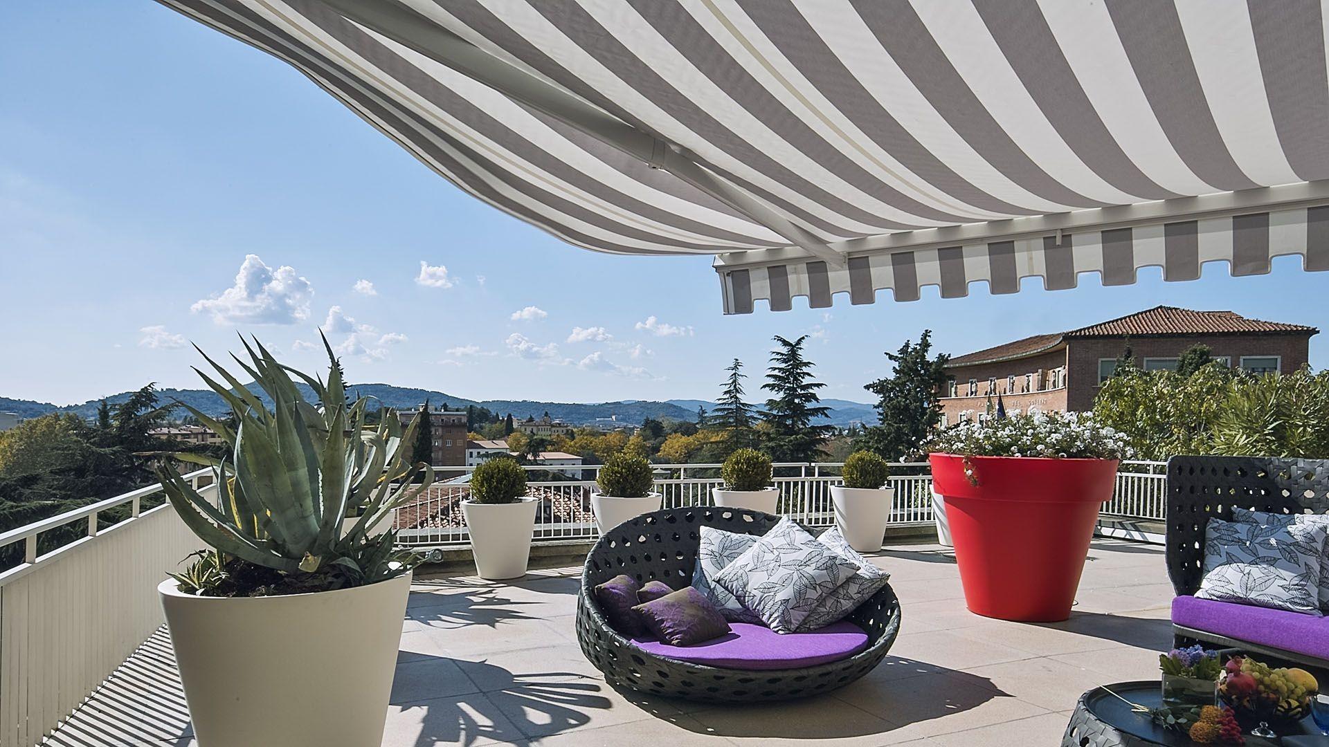 Toldos para terrazas en Sitges