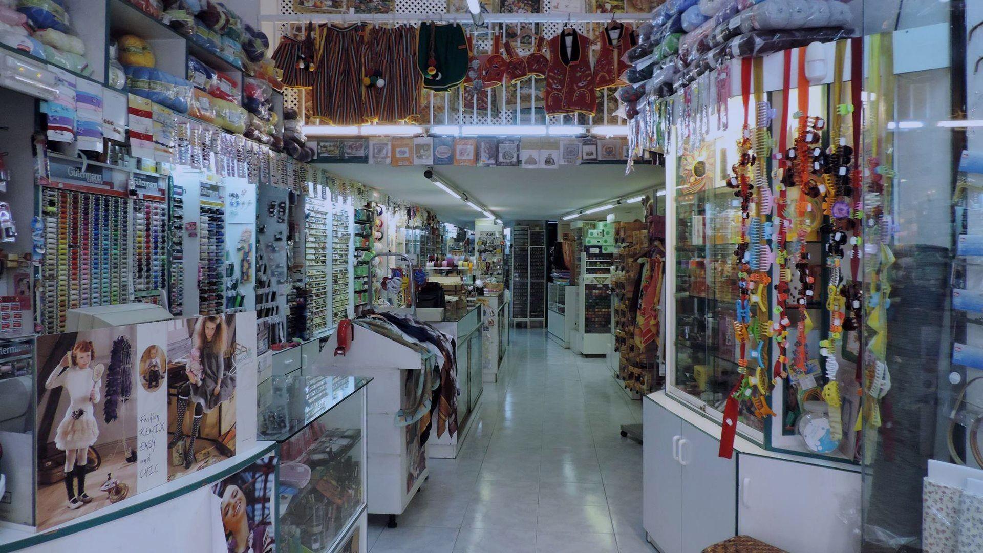 Venta de productos de mercería en Tenerífe
